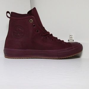 Converse Red/Burgundy Waterproof All Star Boots